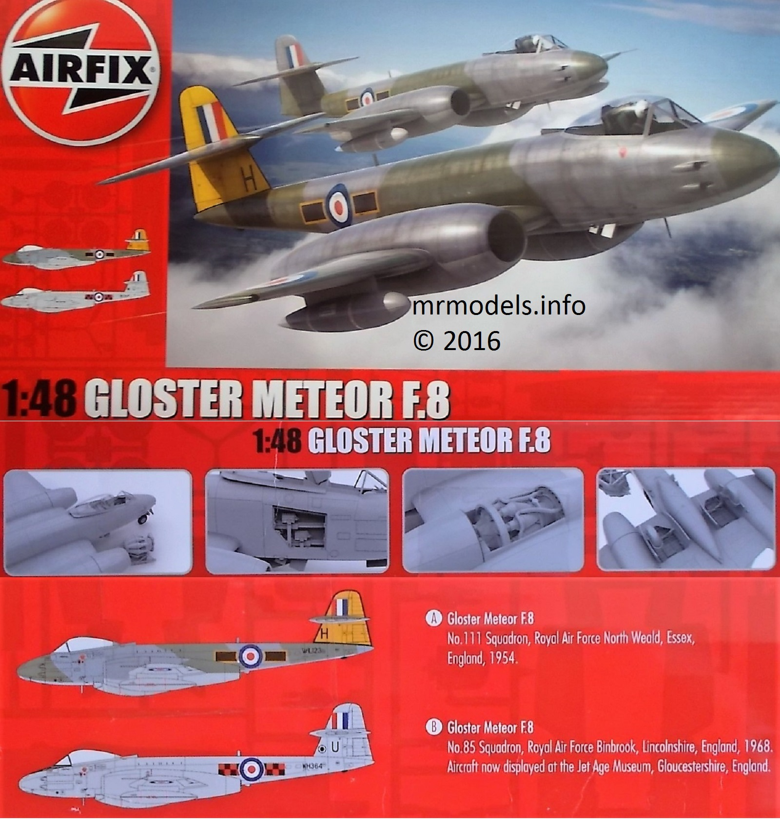 Airfix Gloster Meteor F.8