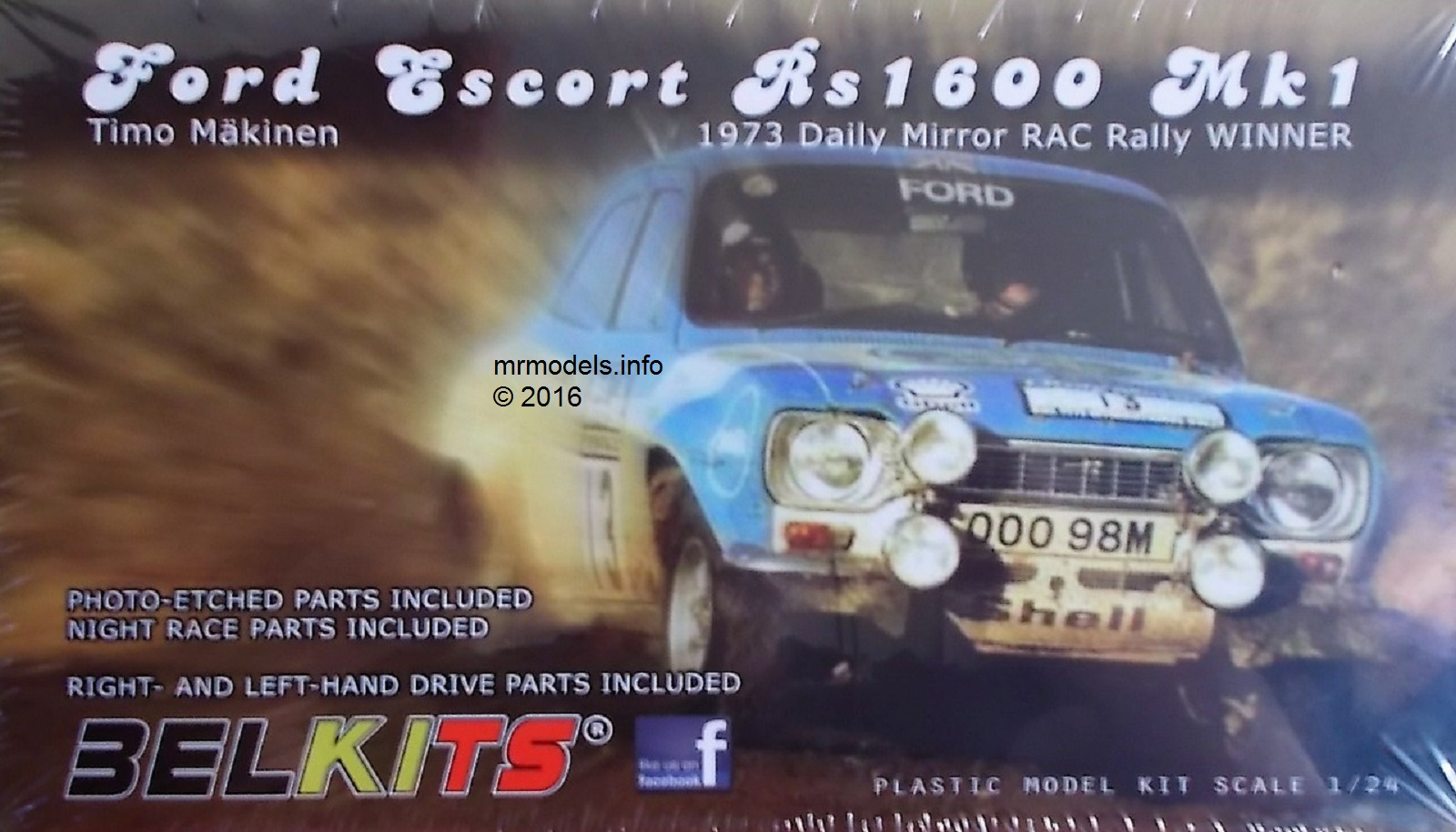 Belkits Ford Escort Timo Makinen